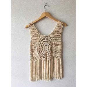 Hippy Knit Crop Top